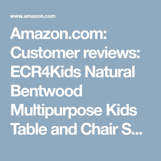 Sensational Amazon Com Customer Reviews Ecr4Kids Natural Bentwood Beatyapartments Chair Design Images Beatyapartmentscom