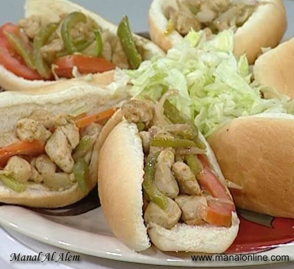 سندوتشات الدجاج Cooking Egyptian Food Healthy Dinner Recipes