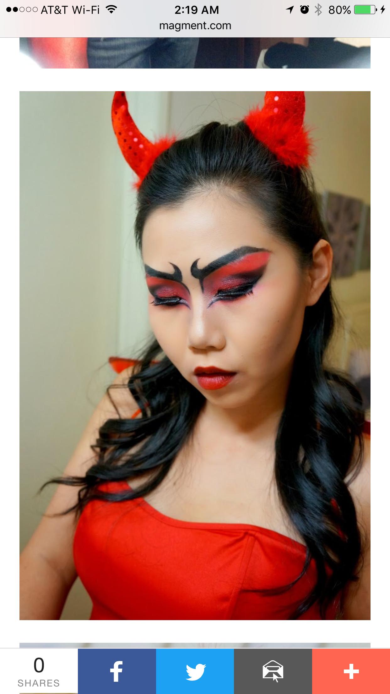 Pin van Jessica Dahl op Halloween makeup Halloween