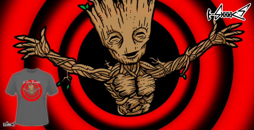 T-shirts - Design: i am groot! - by: Boggs Nicolas