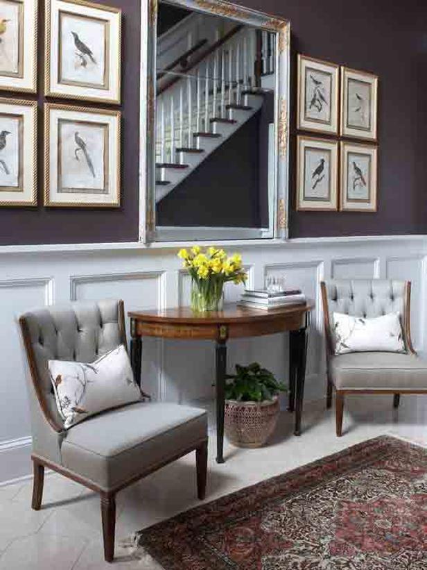 Walls Traditional Living Rooms Ann Wisniewski