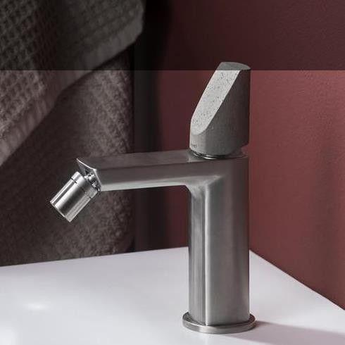 Bidetmischer Haptic Nickel Geburstet Betongriff Capsule Design Lab Design Bad Design
