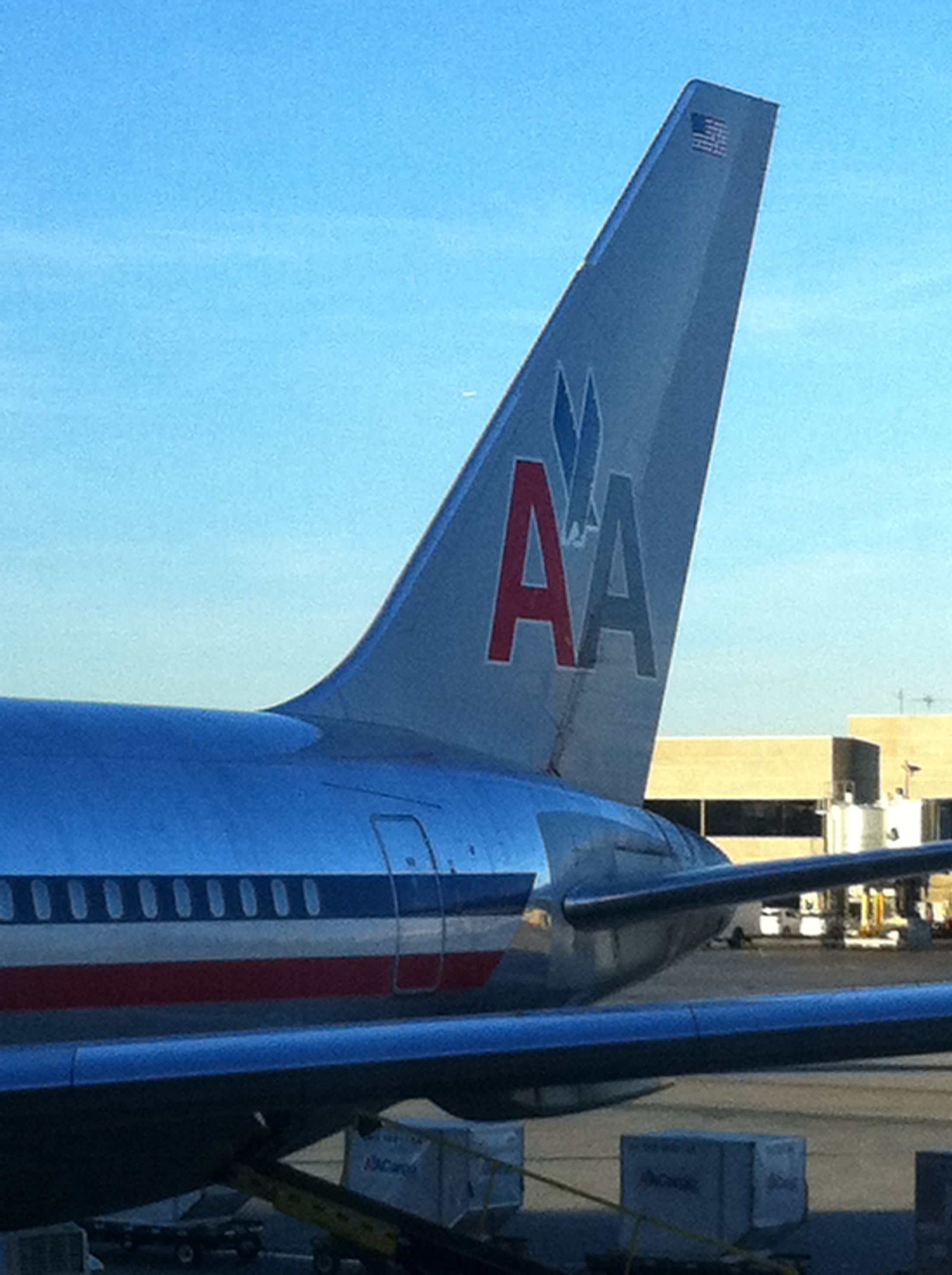 American Airlines 767300 Tail LAX American airlines