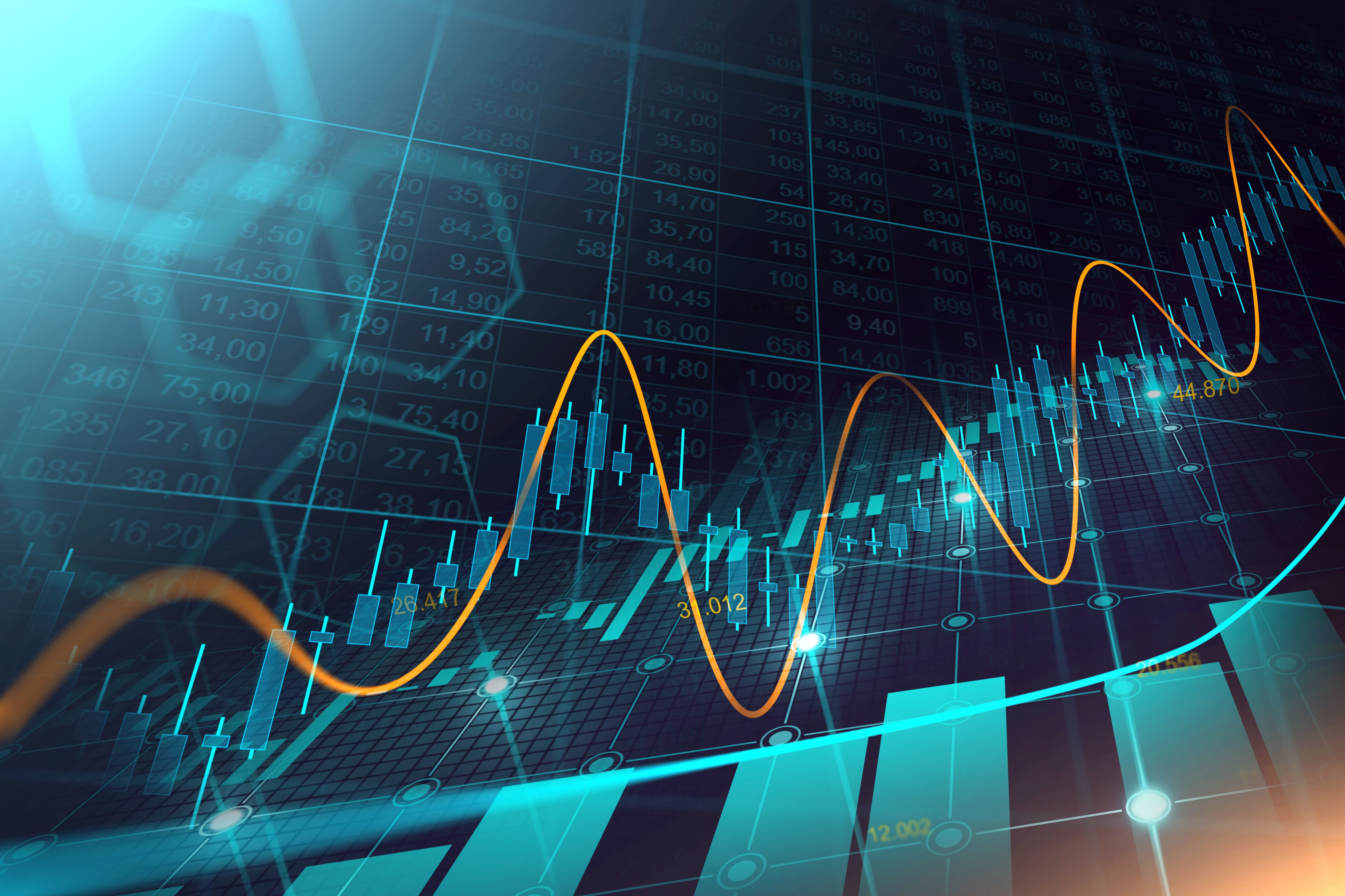 The Stock Market Of Forex Trading In Double Exposure Display Concept In 2020 Stock Market Forex Trading Economic Trends