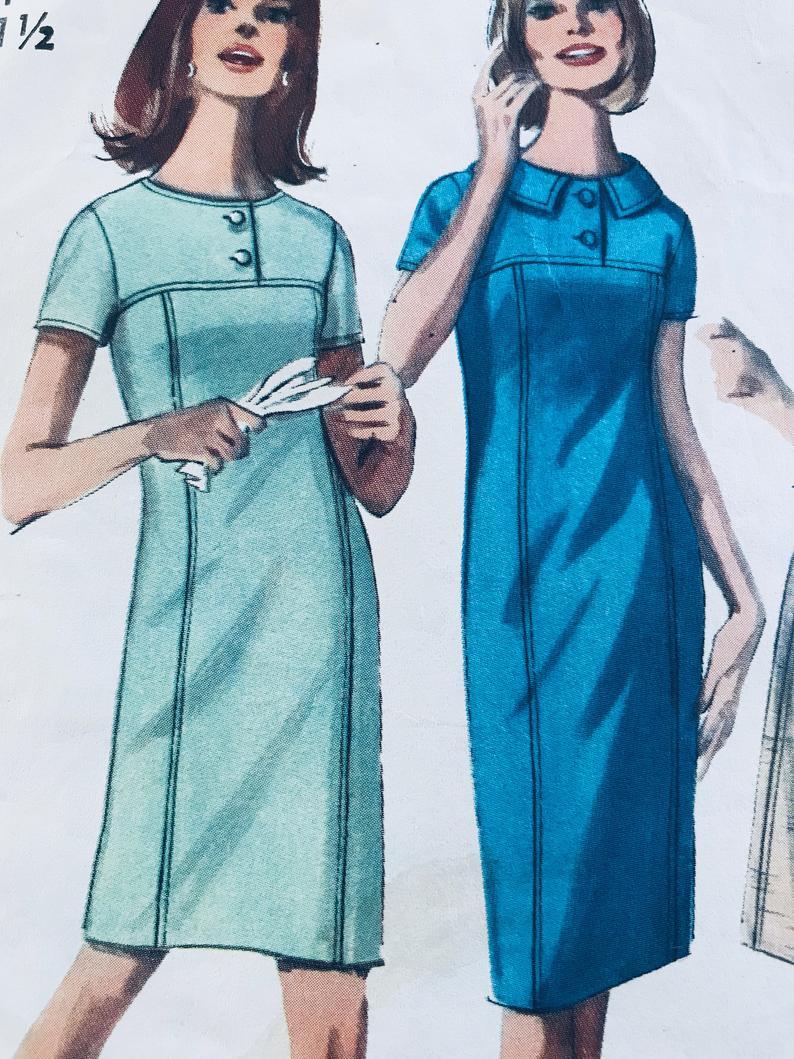 1965 Vintage Simplicity 6043 Women S Shift Dress Pattern Etsy Shift Dress Pattern Womens Shift Dresses Shift Dress [ 1059 x 794 Pixel ]