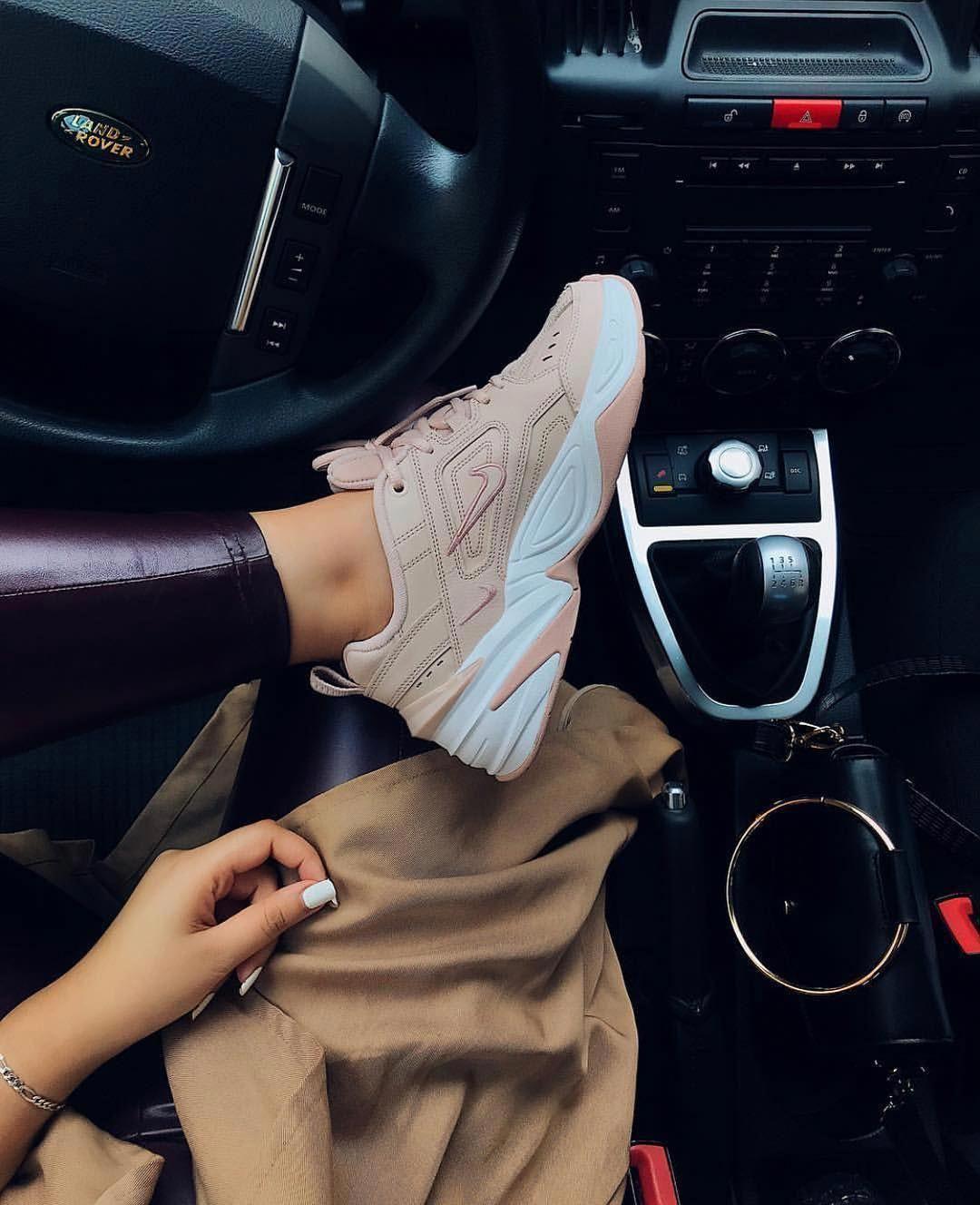 Neu M2K Tekno Shoe. Nike GB in 2019 | Fashion shoes, Beige