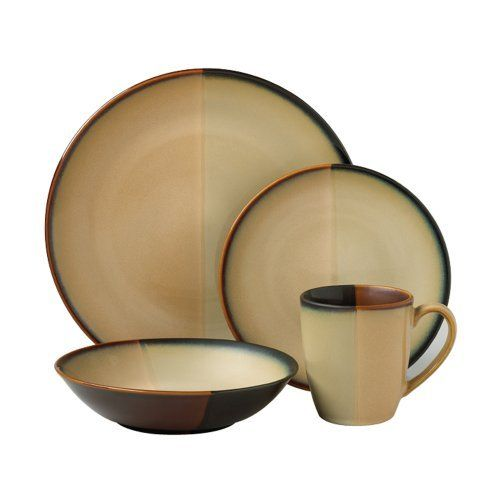 Pfaltzgraff Java Dinnerware Dishes Set 64 Piece Service for 16 New Ships Free  sc 1 st  Pinterest & Pfaltzgraff Java 16-Piece Dinnerware Set Service for 4 by ...