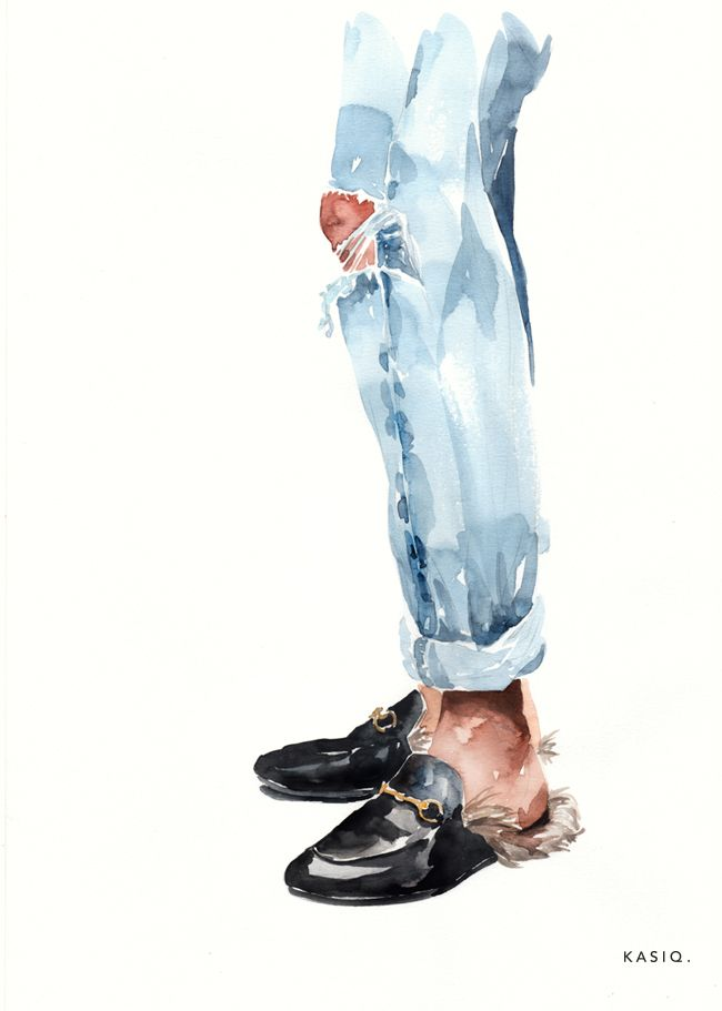Photo of Fashion Illustration series