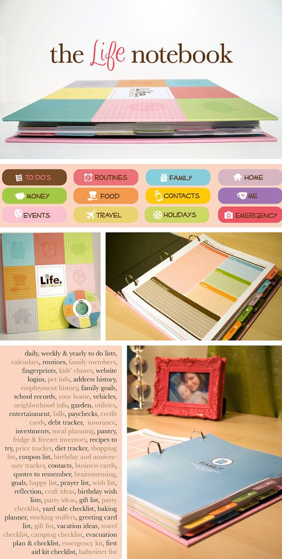 The Life Notebook By Kellybangscreative On Etsy I Would Like It