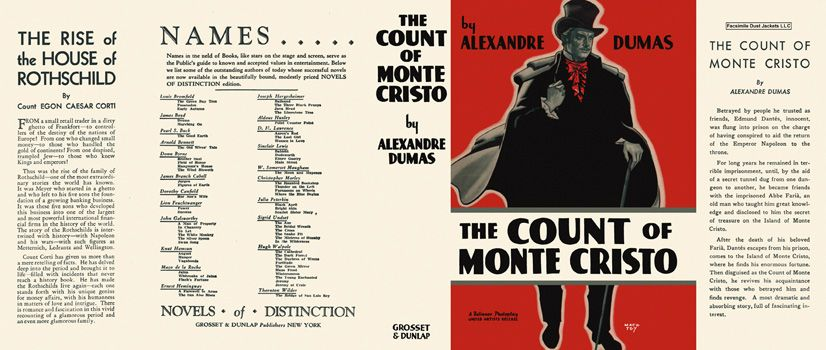 Count of Monte Cristo, The. Alexandre Dumas.