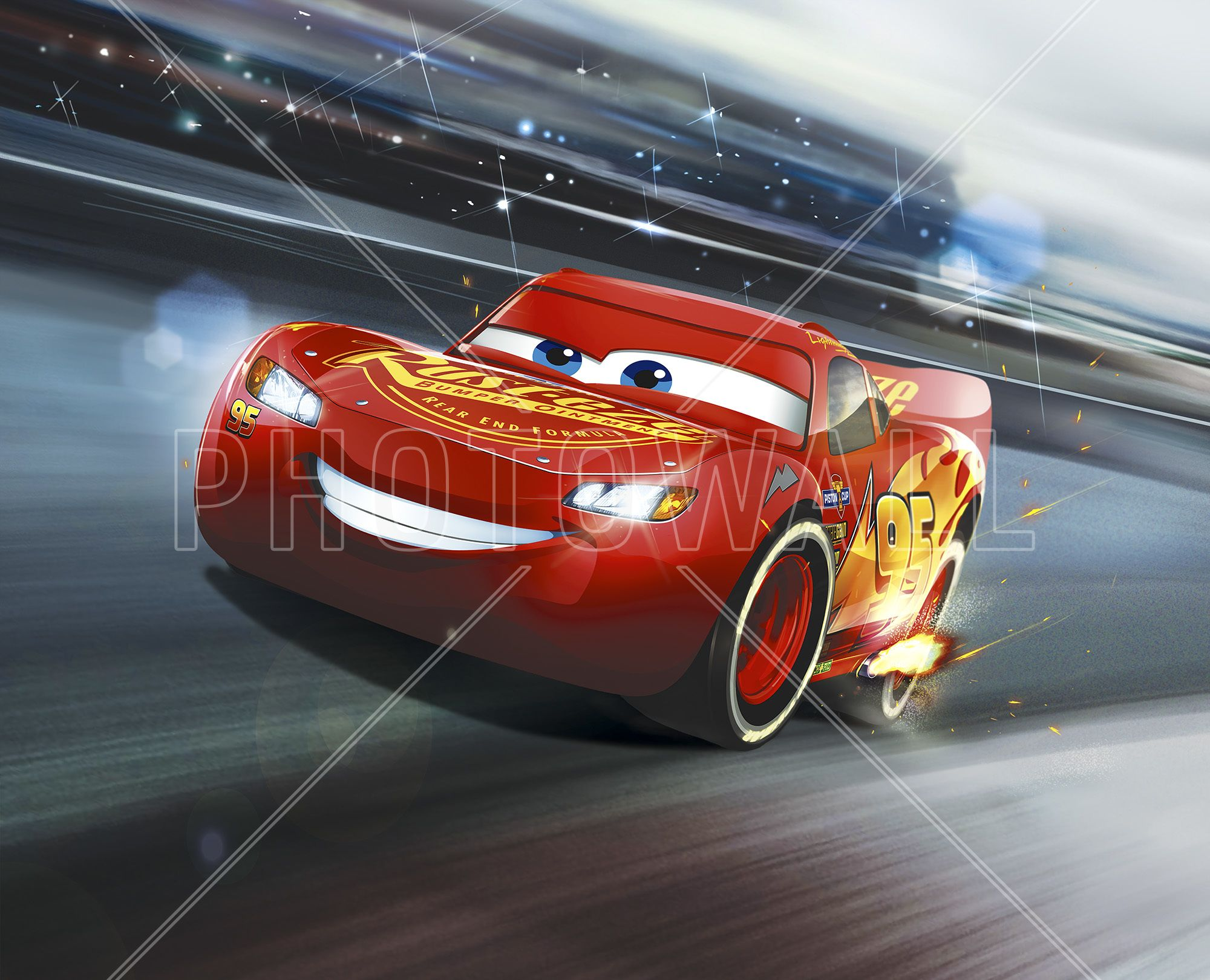 Cars 3 lightning mcqueen legend of the track wall - Cars 3 wallpaper ...