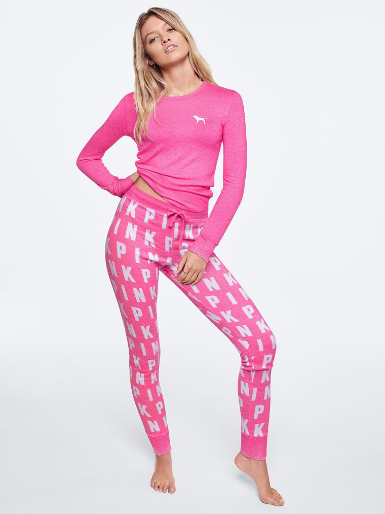 6177294de3 PINK Cozy Sleep Legging