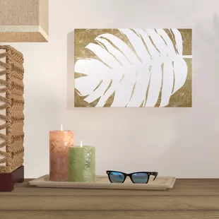 Palm Leaf Wall Art Wayfair In 2020 Leaf Wall Art Graphic Art Print Kids Art Wall Frames