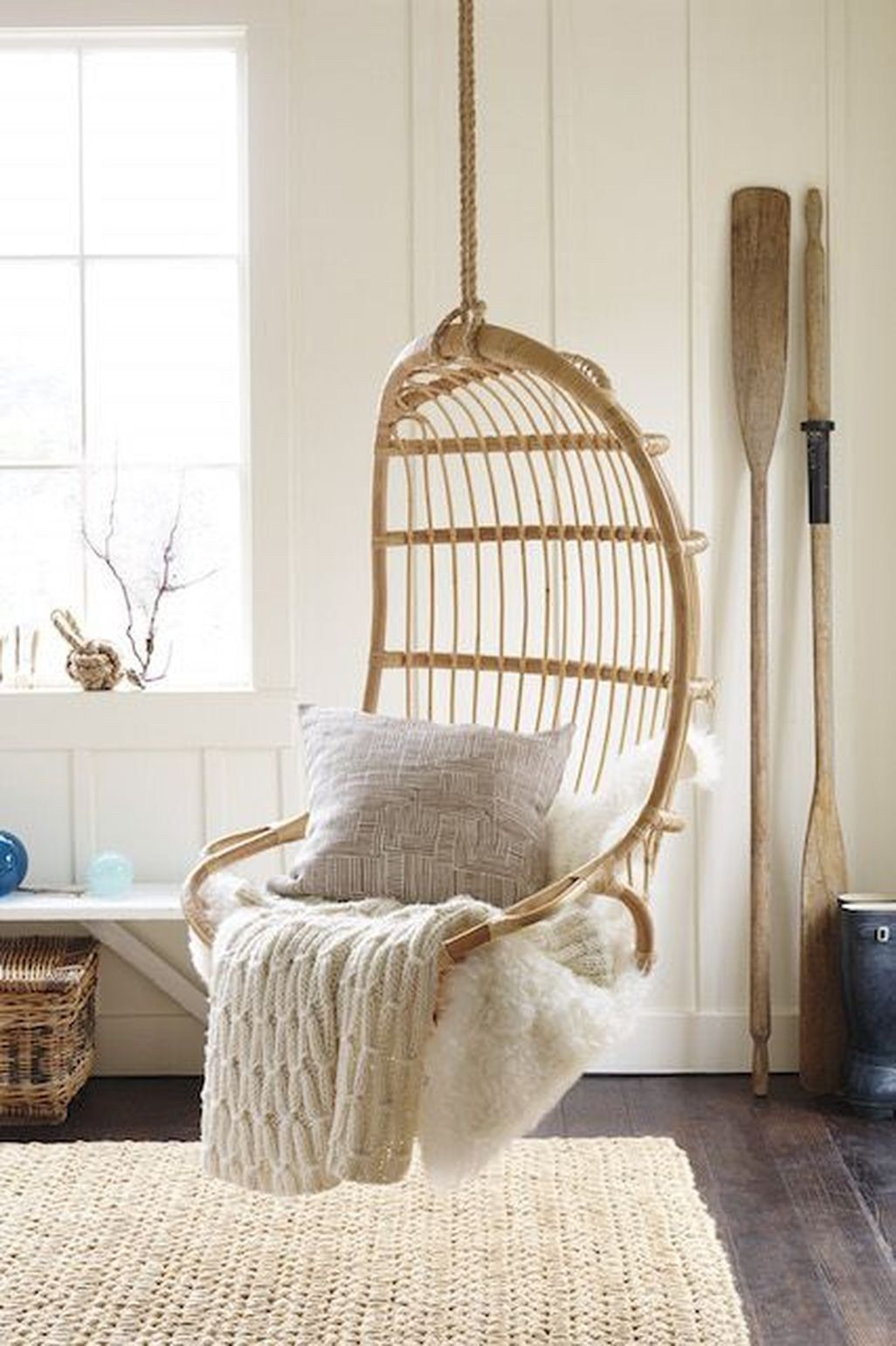 Hanging Swing Chair Stand Indoor Decor
