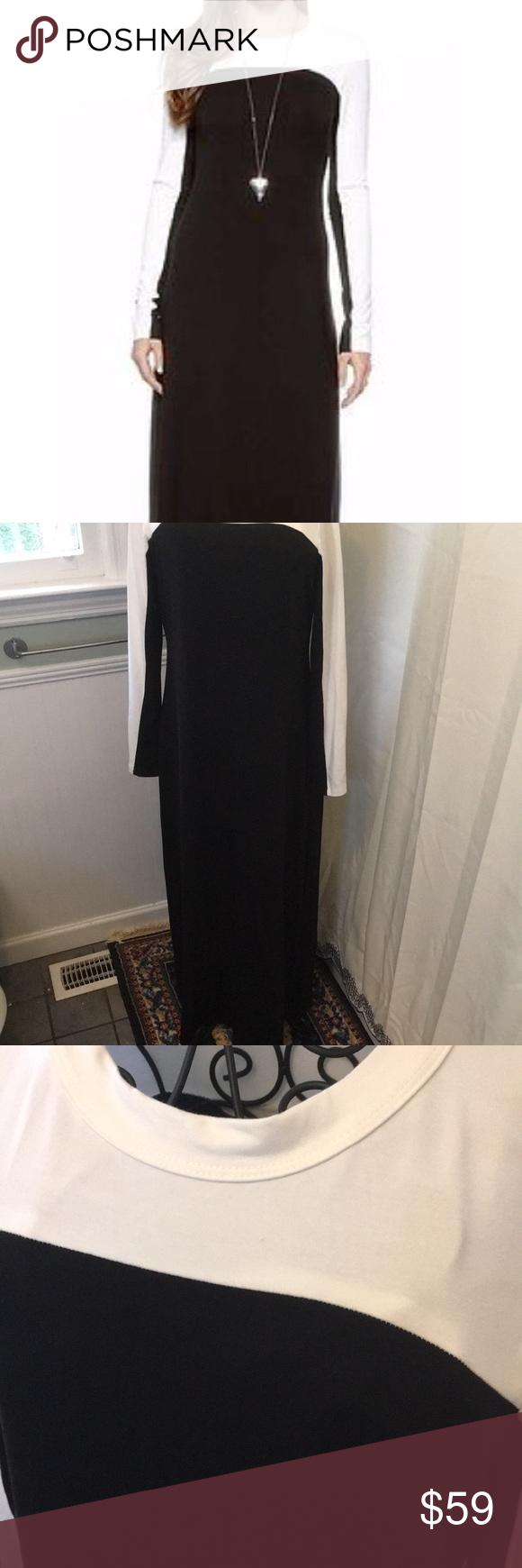 Karen Kane Maxi Colorblock Dress Sz L Color Block Maxi Dress Colorblock Dress Karen Kane Dress [ 1740 x 580 Pixel ]