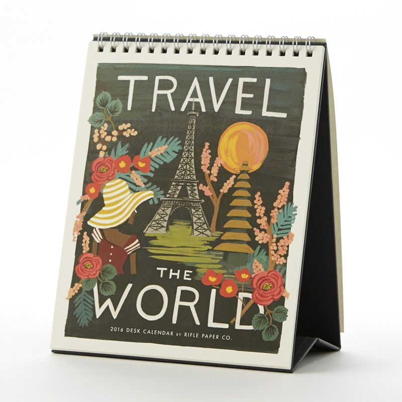 Travel The World In 2016 With This Wanderlust-inspired