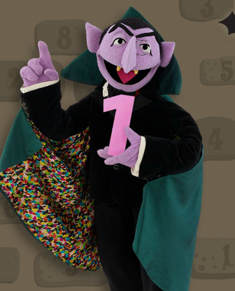Count Von Count Sesame Street S Resident Mathematician Opts