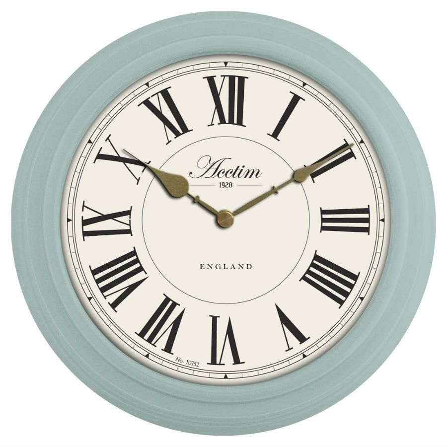 Acctim penhurst duck egg wall clock kitchen pinterest wall acctim penhurst duck egg wall clock amipublicfo Image collections
