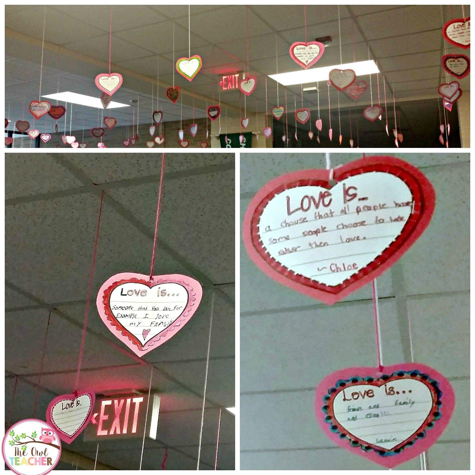 Love Is Valentine S Day Activity