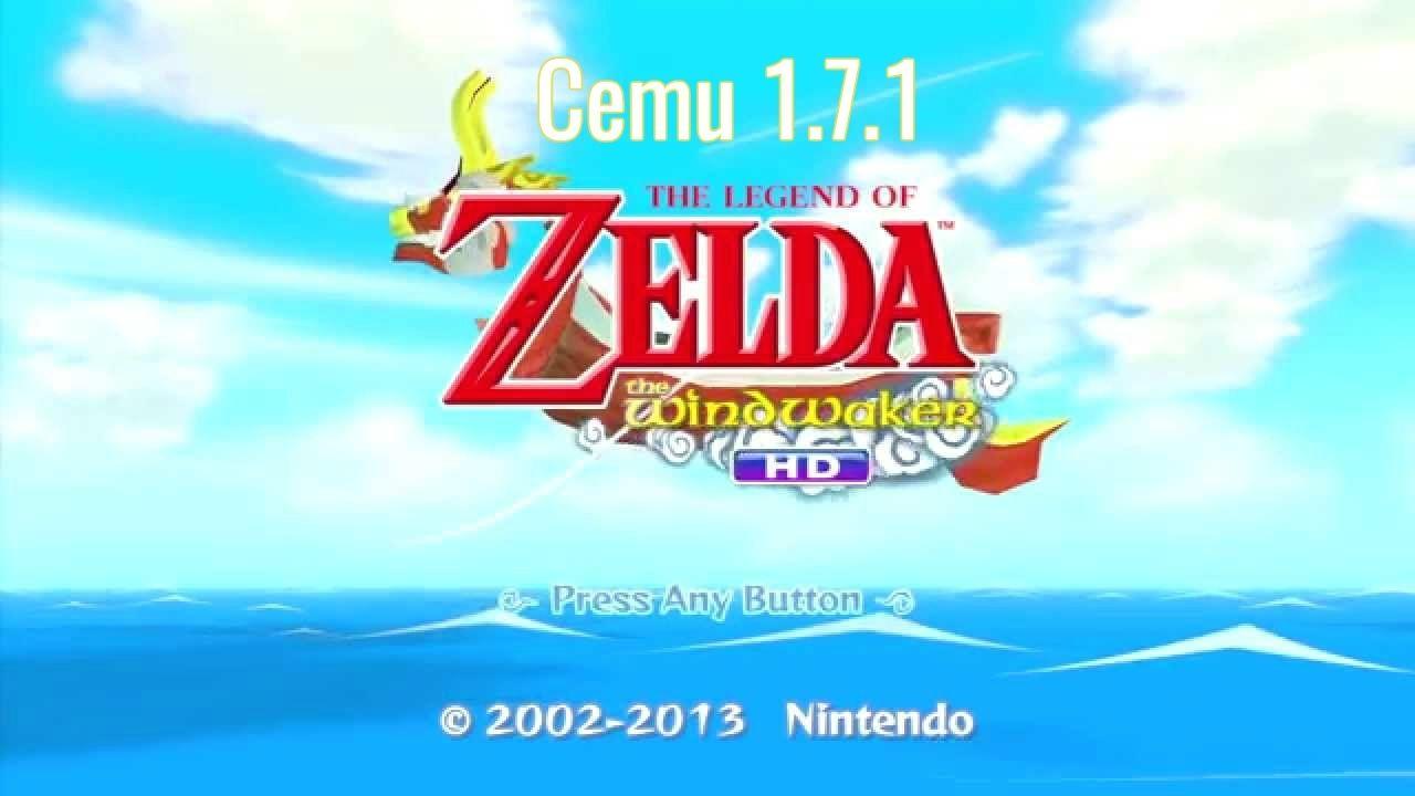The Legend of Zelda Wind Waker HD Cemu 1 7 1   LatestGames