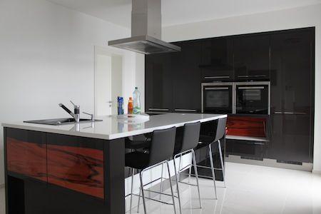 Realizácie kuchýň - Rodinný dom Piešťany - Kuchyňu navrhoval interiérový dizajnér Darina Bušíková