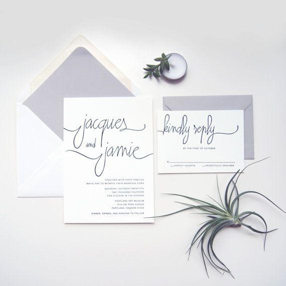 Letterpress Sample Modern Calligraphy Suite