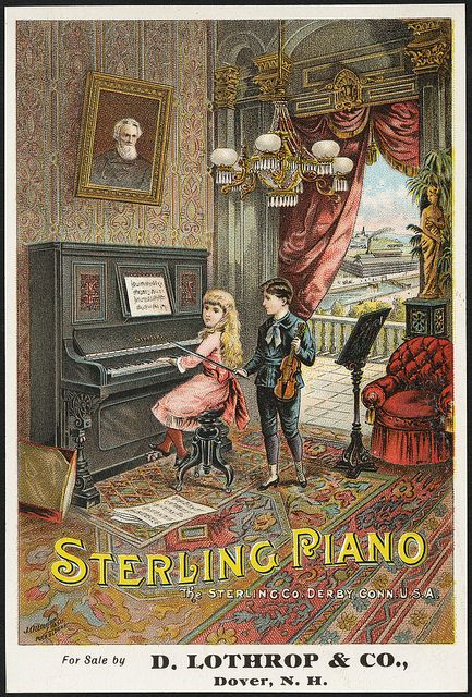 Sterling Piano (front) | Flickr - Photo Sharing!