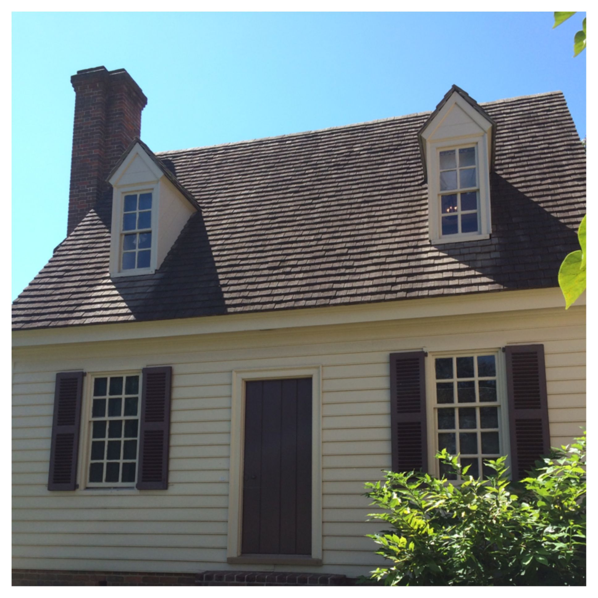Authentic Colonial Houses In Colonial Williamsburg Va Colonial House Colonial Williamsburg Colonial Williamsburg Va