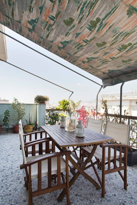 Check Out This Awesome Listing On Airbnb: Spacious Apt. With Acropolis View    Flats