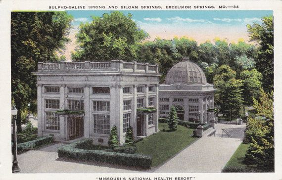 1910. SULPHO SALINE & SILOAM SPRINGS. EXCELSIOR SPRINGS