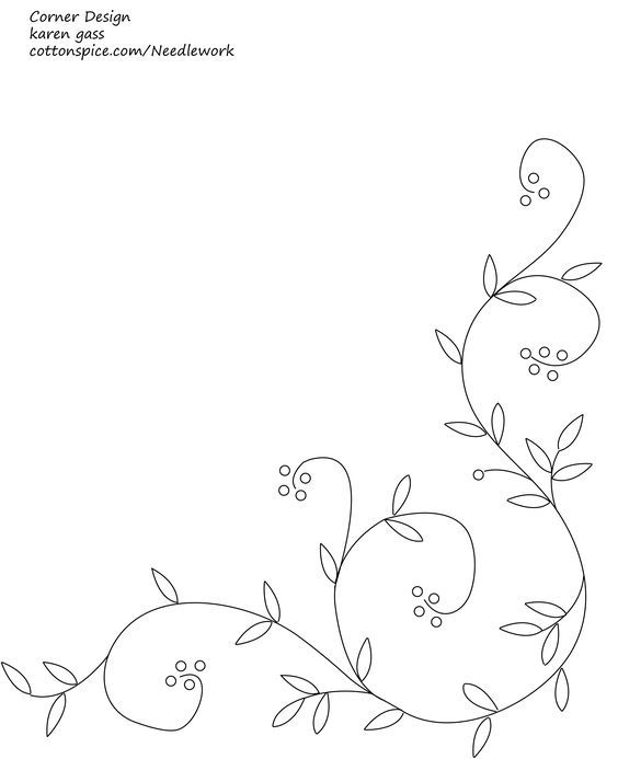 Bordados sabanas | Bordados para sábanas | Bordado, Dibujos para ...