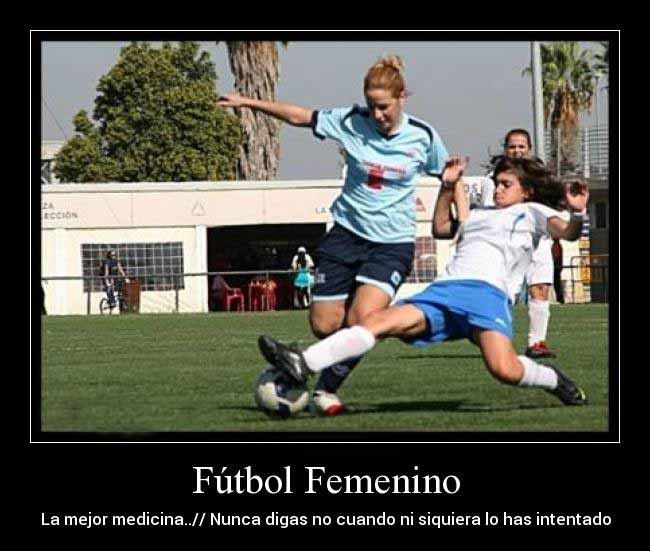 Imagenes De Mujeres Jugando Futbol Con Frases 7 Mary Pinterest