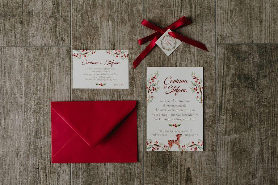 Partecipazioni Matrimonio Natale.Una Favola Di Natale Natale Matrimonio E Nozze