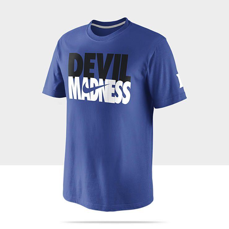Nike Tourney Madness Duke Men S Basketball T Shirt Basketball T Shirt Designs College Basketball Shirts Duke Blue Devils Basketball