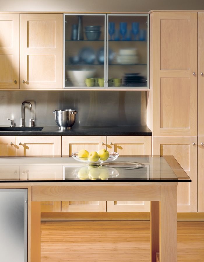 The American Hardwood Information Center Beech Kitchen Cabinets Custom Kitchen Cabinets Kitchen Cabinets