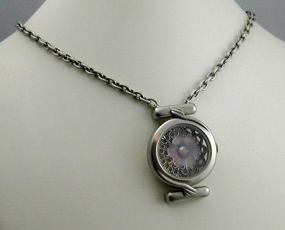 Watch case necklace! So pretty!