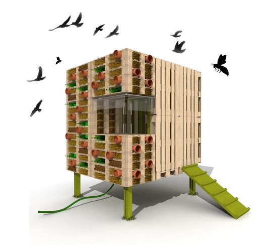 conception d 39 un abri de jardin autoconstruit en palettes de r cup ration jardin pinterest. Black Bedroom Furniture Sets. Home Design Ideas