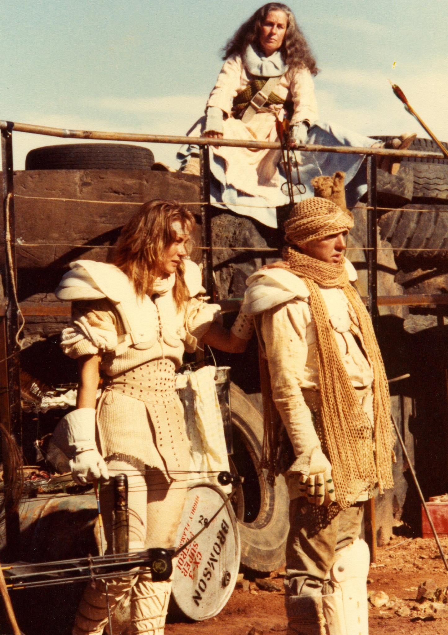 Virginia Hey Behind The Scenes On The Set Of Madmax 2 -6148