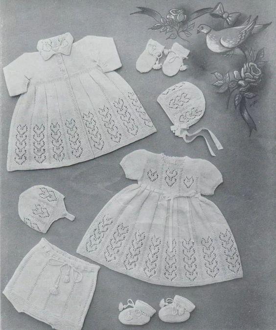 Bubbles Baby Layette Knitting Pinterest Baby Layette Layette