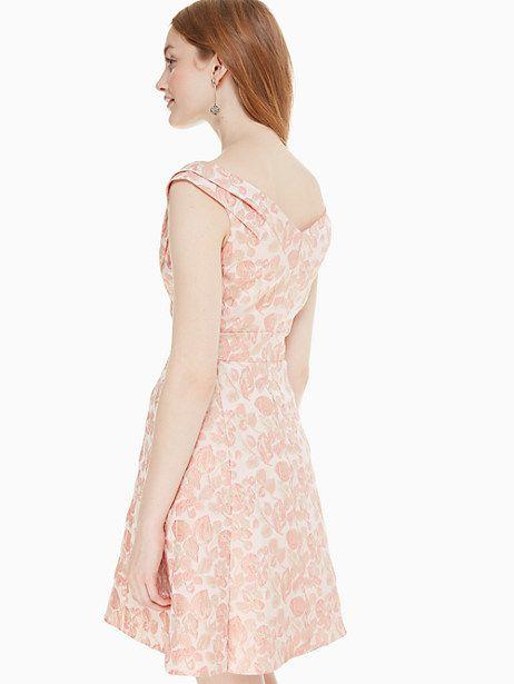 c6490c38396b Kate Spade Metallic Jacquard Dress, Rose Dew - Size 12   Products ...
