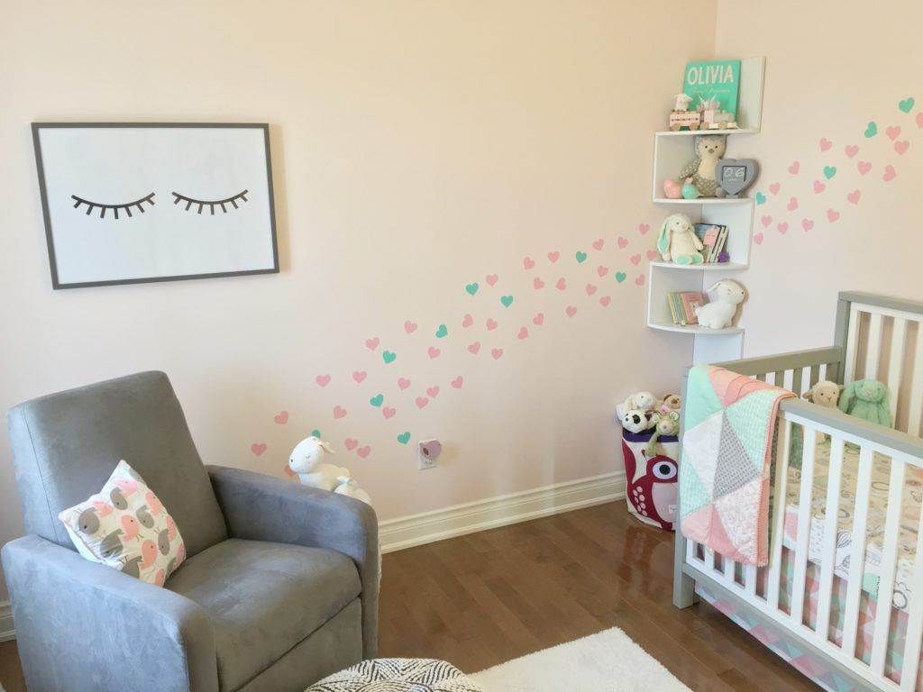 Sleepy Eyes, Birds and Bunnies Nursery for Olivia | Girl nurseries ...
