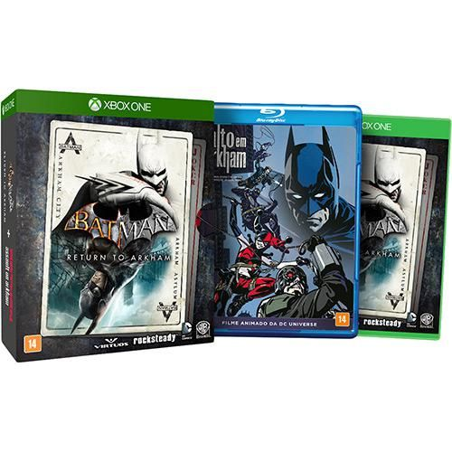 Game Batman Return To Arkham Combo Xbox One Batman Xbox One