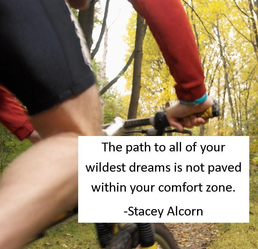 So true...better get outside the comfort zone