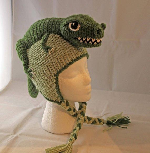 PATTERN: Tommy T-Rex Crochet Hat - child size | Crochet ...
