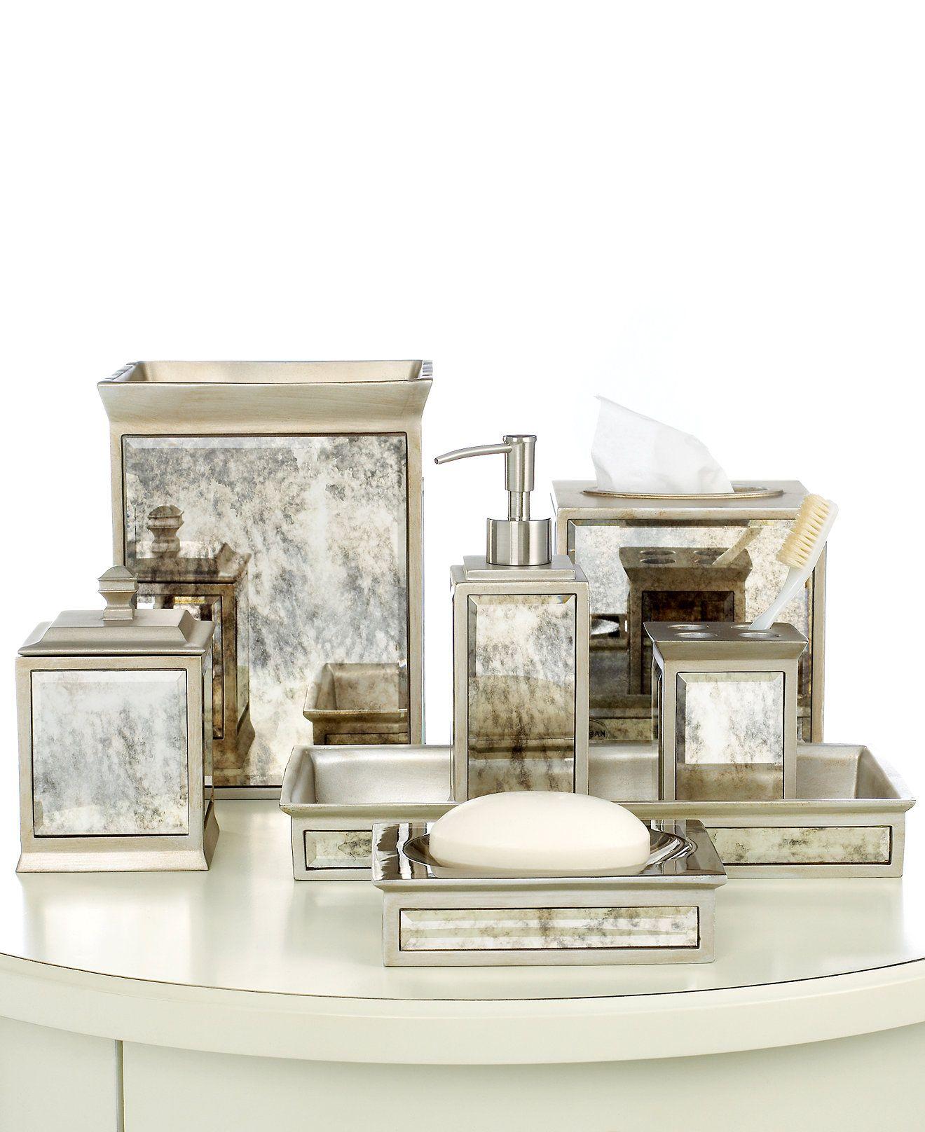 Kassatex Bath Accessories, Palazzo Collection | Bath accessories ...