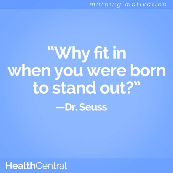 "Stand Out Quotes: Dr. Seuss Quote: ""Why Fit Is When You Were Born To Stand"