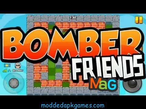 bomber friends mod apk unlimited gold and money