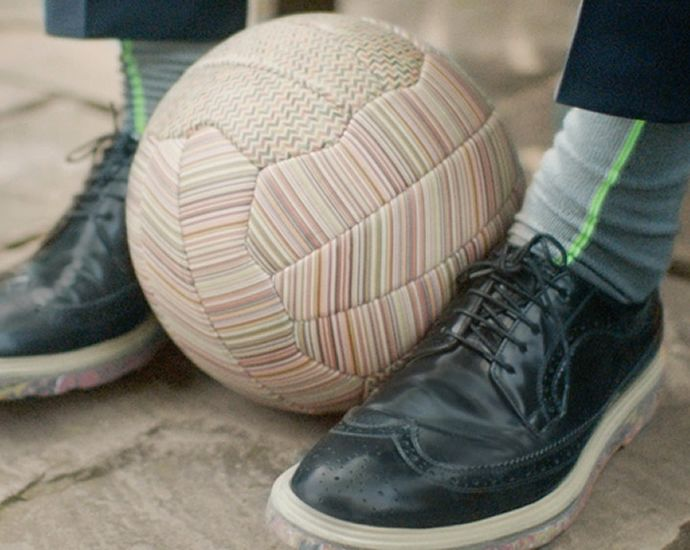 Paul Smith releases limited edition printed football for FIFA world cup