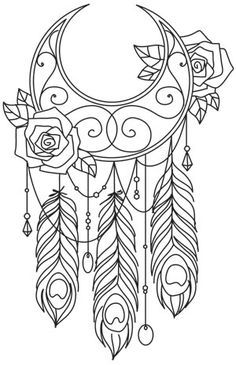 Wanderlust By The Moonlight Urban Threads Unique And Awesome Embroidery Designs Hand Embroidery Designs Coloring Pages Embroidery Patterns