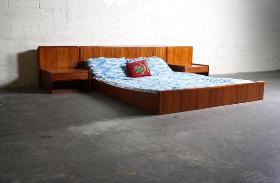 72 Hour Sale Vintage Danish Mid Century Modern Teak By Abtmodern 1799 95 Danish Midc Mid Century Interior Design Danish Mid Century Modern Queen Bed Frame